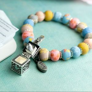 Prayer Bracelet with Silver Locking Box
